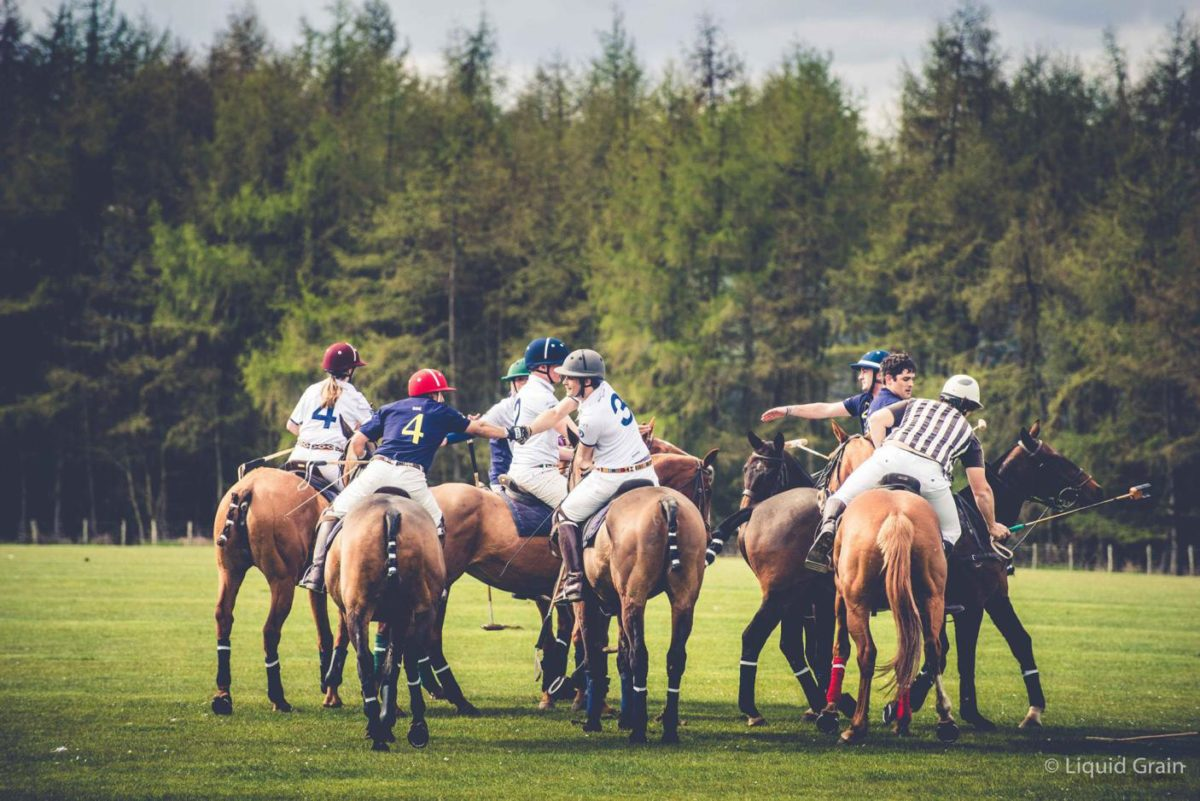 The St Andrews Charity Polo Tournament rides again
