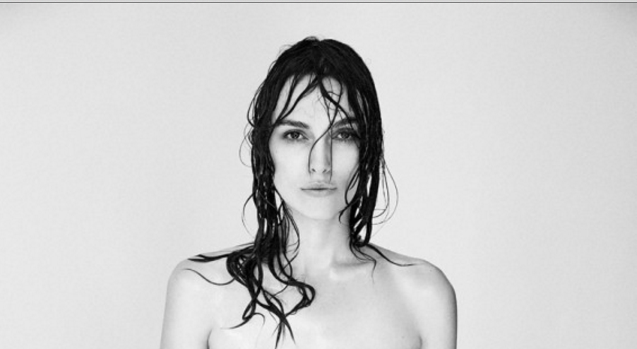 Is Keira Knightley's recent topless photoshoot a step forward in the desexualisation of the female body?
