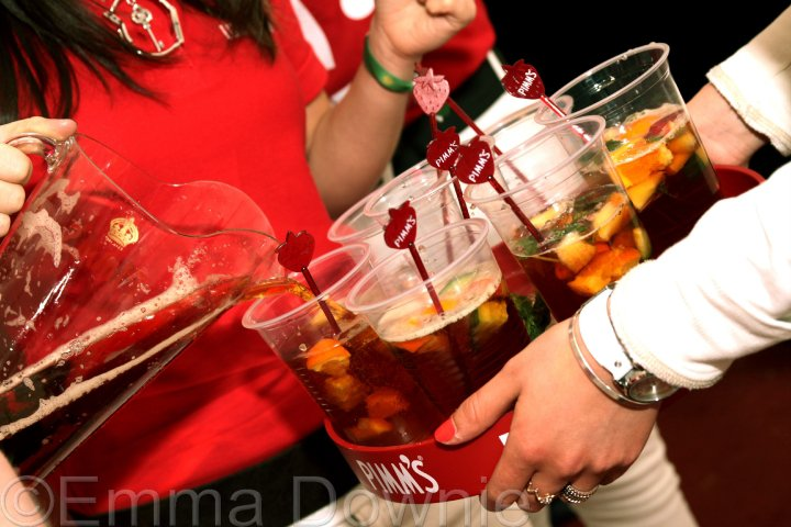 Lumsden Sets the Clocks to PIMM'S