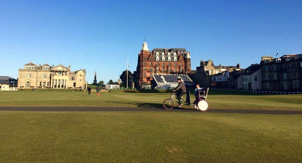 Chariots of Hire Returns to St Andrews