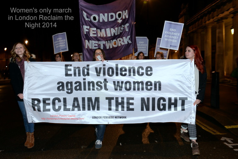 "Reclaim the Night from St Andrews ""Feminists"""
