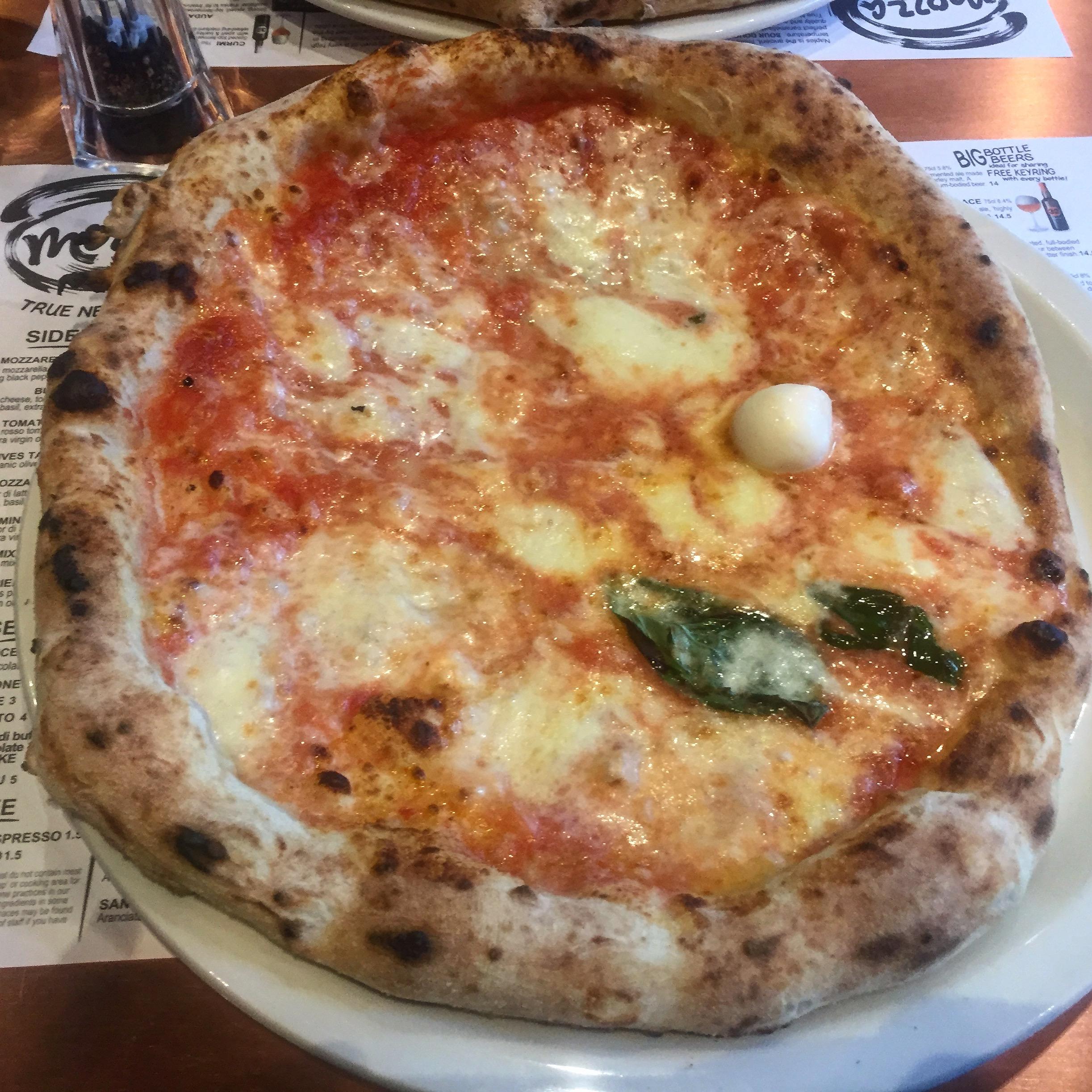 Mozza: A Pizza Lover's Delight