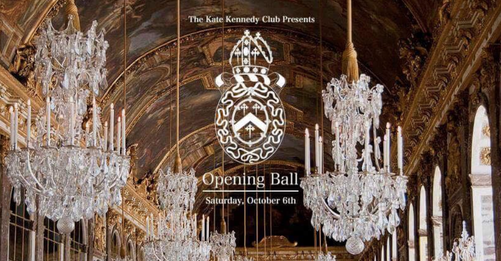 Who, What, Wear? Opening Ball 2018