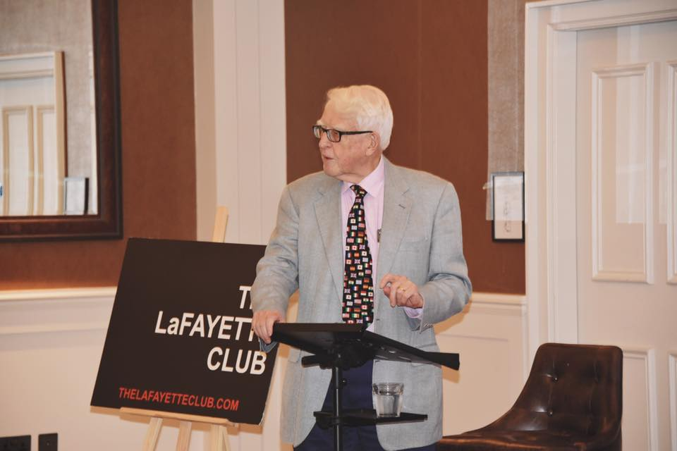 Event Review- A conversation with Sir Richard Jolly at the Lafayette Club