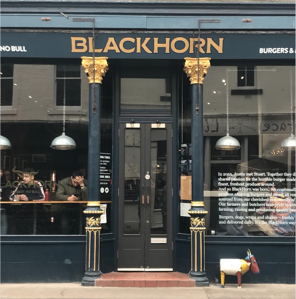 The Black Horn Doors