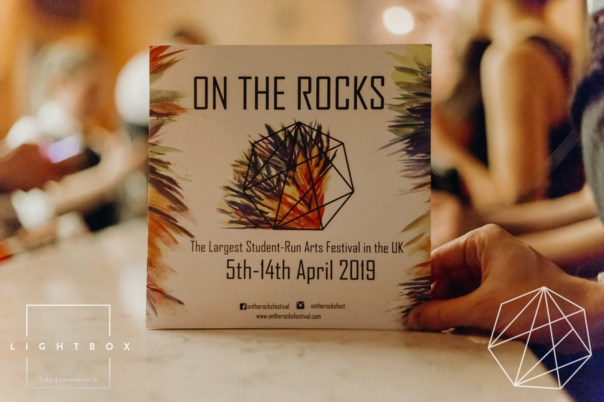 The Launch of the On the Rocks Festival