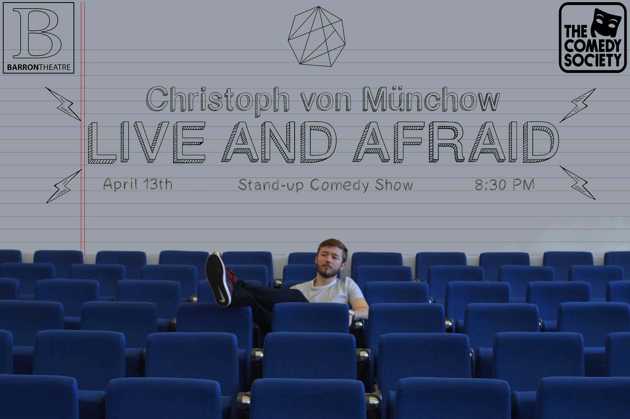 Christoph von Münchow: Live and Afraid, Reviewed