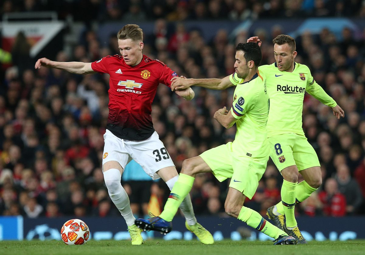 Barcelona Wins at Old Trafford to Take Control of Champions League Quarter Final Tie
