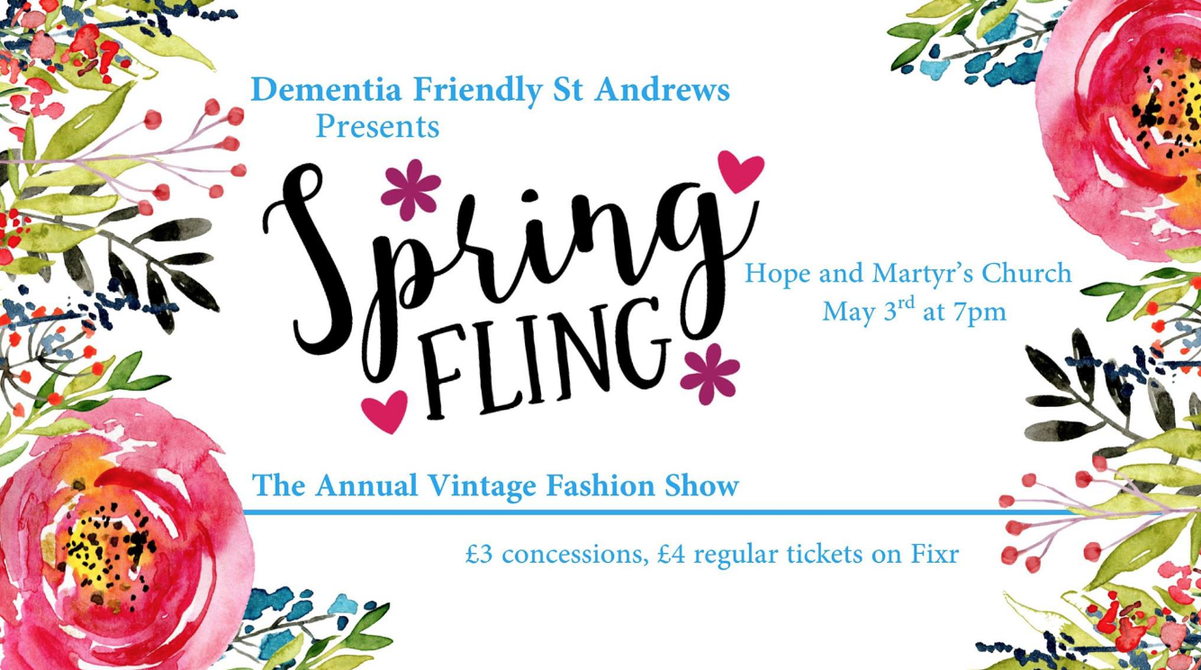 The Spring Fling – Vintage Fashion Show: Reviewed